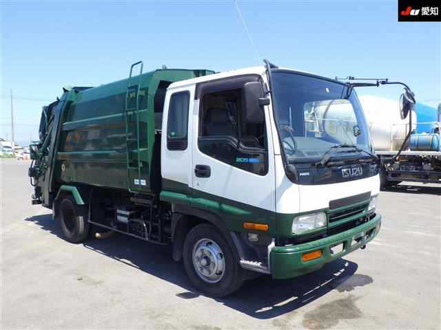 Мусоровоз ISUZU FORWARD 2003 белый FRR35D4