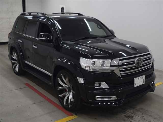 TOYOTA LAND CRUISER 2017 черный CBA-URJ202W ZX 4WD